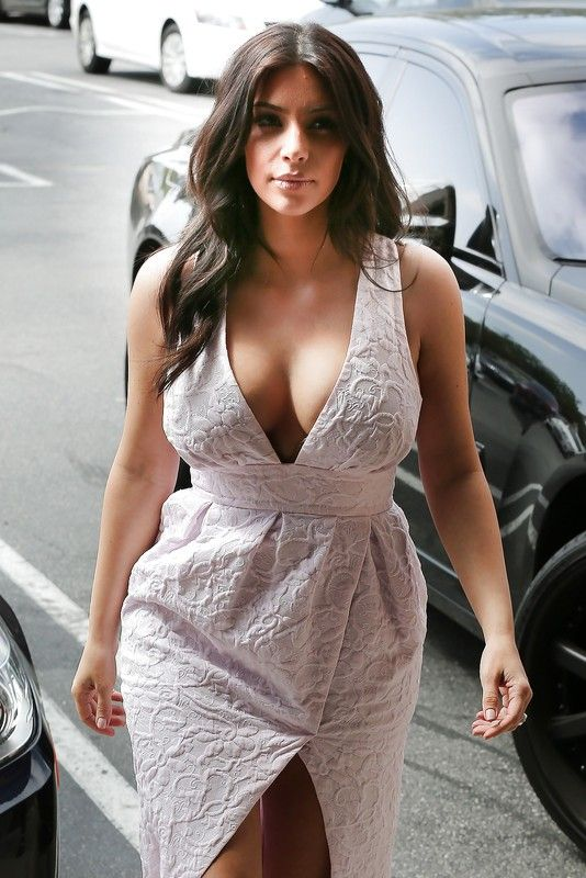 Kim Kardashian's boobs