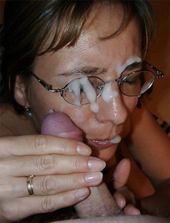 Dédicace ENCREMEUR - Sperme sur les lunettes - 1.