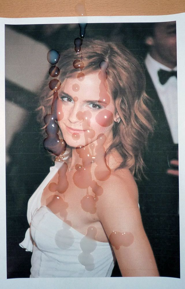 Emma watson cum tribute question not